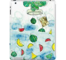 Why Watermelon Drop from Bottle? iPad Case/Skin
