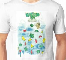 Why Watermelon Drop from Bottle? Unisex T-Shirt