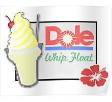 Dole Whip Float Poster