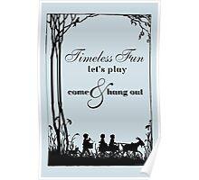 Goat Carting Poster