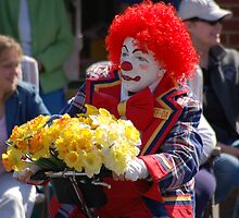 BE SERIOUS YOU ARE ALWAYS CLOWNING AROUND by Michael Beers