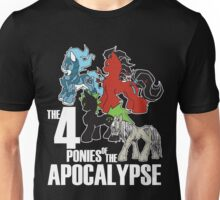 Four Ponies of the Apocalypse Unisex T-Shirt