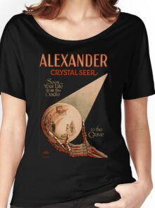 Grindhouse Lounge: Alexander the Seer Women's Relaxed Fit T-Shirt