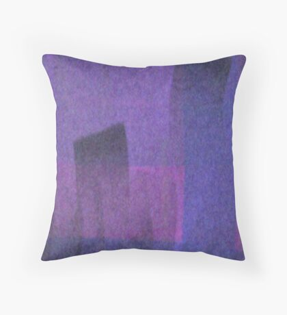 Violet Mystery Throw Pillow
