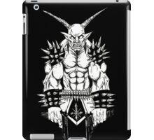 Goatlord Vengeance Black iPad Case/Skin