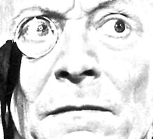 1st Doctor Close Up Sketch by nahman