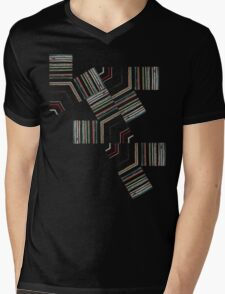 Permutation Mens V-Neck T-Shirt