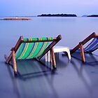 Deck chairs by Anthony and Kelly Rae