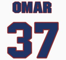 National baseball player Omar Daal jersey 37 by imsport