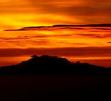 Sunset Over the Hill by Mark Ramstead