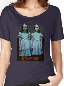 Redrum Twins Women's Relaxed Fit T-Shirt