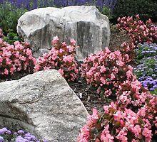 Hillside Garden by Herb Dickinson
