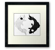 Koi Spirits Framed Print