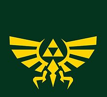 Triforce Emblem by Exclamation Innovations