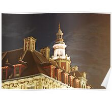 Vielle Bourse Roof Poster