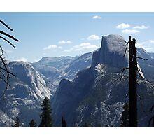 Half Dome in Profile Photographic Print