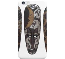 Three African Masks iPhone Case/Skin