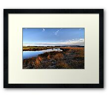 Warming morning ... Framed Print