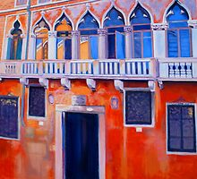 Venetian Facade by Dai Wynn
