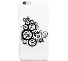 Fishie, Love is We iPhone Case/Skin