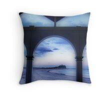 Nobbys Beach, NSW Australia Throw Pillow
