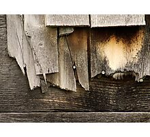 Well Weathered Photographic Print