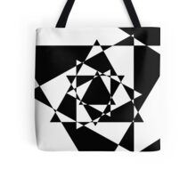 Trion - Black and White Tote Bag