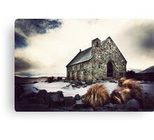 good shepherd Canvas Print