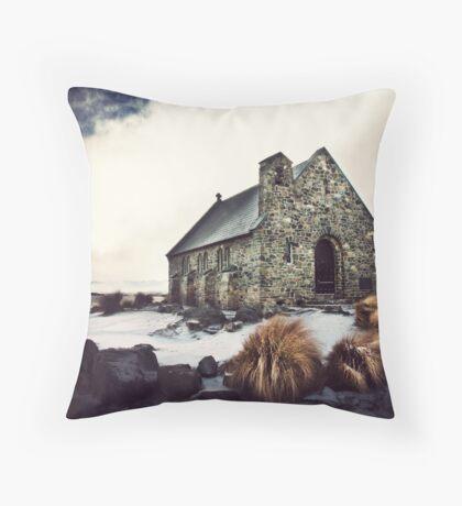 good shepherd Throw Pillow