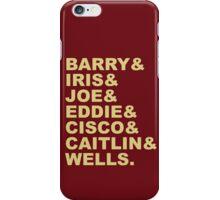 The Flash (Fandom Names) iPhone Case/Skin