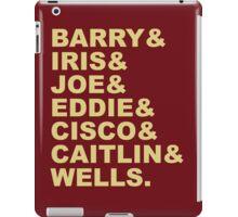 The Flash (Fandom Names) iPad Case/Skin