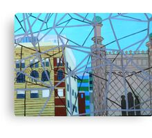 Barred View (painting) Canvas Print