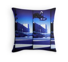 Supersampler Bike Throw Pillow