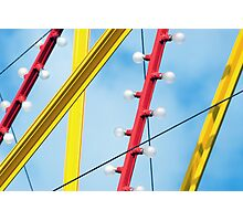 Fun-Ride Lines Photographic Print