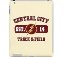 Central City Track & Field iPad Case/Skin