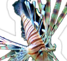 Lion Fish Sticker