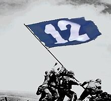 12th Man Raise the Flag by brokenboxcultR