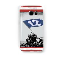 12th Man Raise the Flag Samsung Galaxy Case/Skin