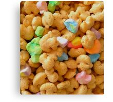 Marshmallow Cereal Canvas Print
