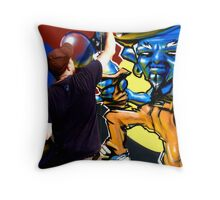 St Kilda comp 1 Throw Pillow
