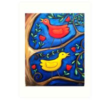 PASAREA  MAIASTRA 2  ( MIRACULOUS  BIRD  2 ) Art Print