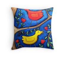 PASAREA  MAIASTRA 2  ( MIRACULOUS  BIRD  2 ) Throw Pillow