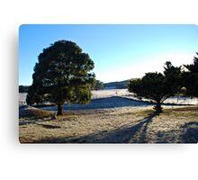Frosty Goulburn Morning Canvas Print