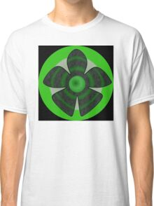Green flower Classic T-Shirt