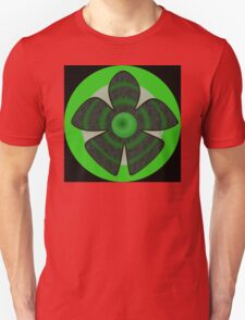 Green flower Unisex T-Shirt