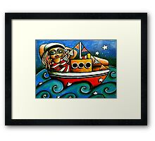 Sailor Girl Framed Print