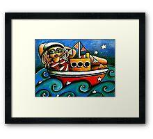 Sailor Girl Framed Print