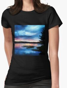 Sunrise Art - New Day Womens Fitted T-Shirt