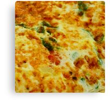 Omelette Canvas Print