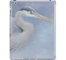 Blue Heron Art - Creativity iPad Case/Skin
